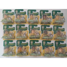 Coleção 15 Mini Craques Seleção Brasileira 2014