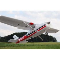 Avião Aeromodelo New Cessna 747-3 6-ch 2.4ghz Brushless Rc