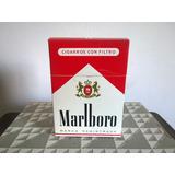 Caja Con 10 Cajetillas Cigarros Marlboro ( Sin Cigarrillos )