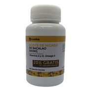 Aceite Higado Bacalao Caps X 60 + 20% Gratis Goldfish