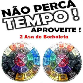 2 Sombra Glitter Asa De Borboleta Playboy Kit Com 48 Cores