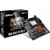 Kit Am3 Fx 4300 Mb Asrock N68-gs4 4 Gb Mem 1600 Mhz