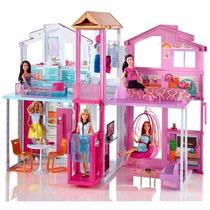 Casa De Barbie Casita Muñecas Jacuzzi Elevador