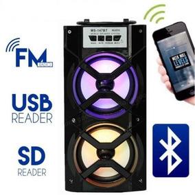 Caixa Som Bluetooth Rádio Wireles Queima Estoque Torra Torra