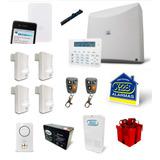 Kit Alarma X28 Domiciliaria Full N8 Celular, Casa O Depto