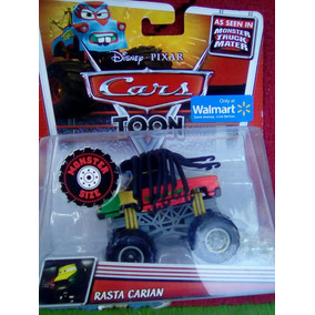 Rasta Carian Monster Trucks Cars Disney