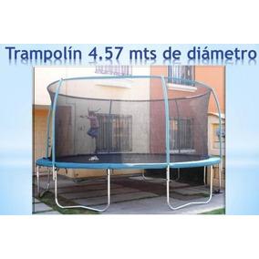 Trampolin X-trender El Mas Grande 4.56 Mts.