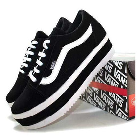 Tênis Vans Old Skool Feminino Plataforma Oferta Black Friday
