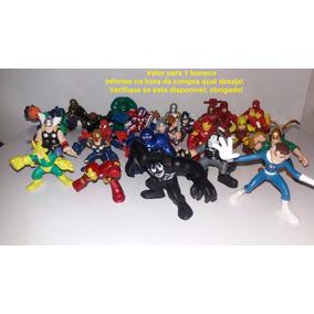 Coleção Marvel Super Hero Squad Vingadores Valor P/1 Boneco
