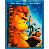 El Rey Leon Edicion Diamante , Pelicula Blu-ray + Dvd