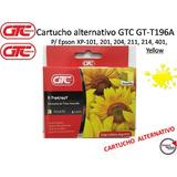 Cartucho Alternativo Gtc Gt-t196a / Para Epson / Yellow