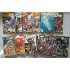 Gibis X-men Editora Panini Lote Com 62 Gibis