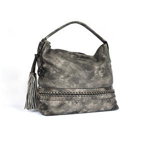 Bolsa Dama Mujer Tote Hobo Medium Gris - All About My Bag