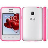 Celular Lg L30 Dual Branco/ Rosa Webfones Novo