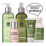 Kit P/ Piel Grasa Acne Y Poros Dilatados + Bebible De Regalo