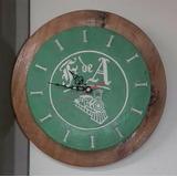 Reloj Pared Ferrocarril De Antioquia Original