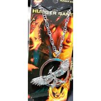 Collar Sinsajo Plateado Hunger Games Metal