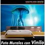 Viinil Decorativo Foto Mural Animales: Acuaticos