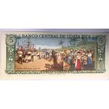 Billete 5 Colones Costa Rica Excelente Envió Gratis