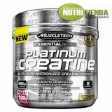 100% Platinum Creatine X400 Grs. De Muscletech (80 Servidas)