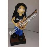 Muñeco Personalizado Goma Eva Decoración De Tortas.