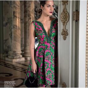 Vestido Estampado Bordado Printing 38
