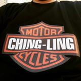 Camiseta Ching Ling Motorcycles By Person Arte E Design