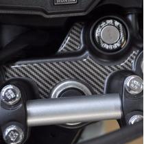 Protetor Relevo 3d Carbono Mesa Ignição Moto Honda Bros 160