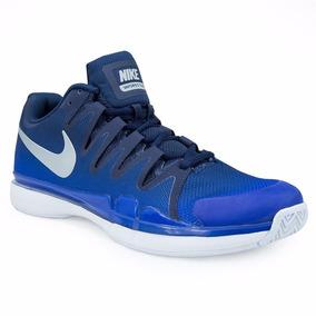 Zapatilla Nike Vapor Tour 9.5 Rf Navy/silver