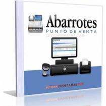 Software Punto De Venta Abarrotero Full Entrega Inmediata