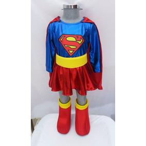 Disfraz Tipo Superchica Princesa Supergirl Mujer Maravilla