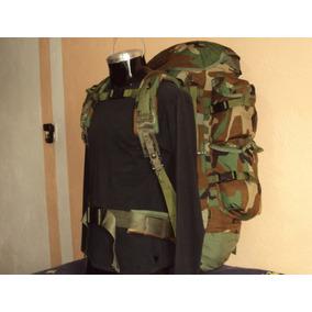 Mochila Tactica Militar Us Army Woodland Camuflaje Americana