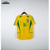 Camiseta Seleccion Brasil 2002 Ronaldinho Gaucho Dinh Brazil 56207588d126a