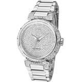 Relógio Feminino Ana Hickmann Ah28357q Prata