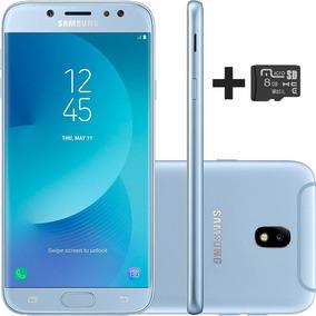 Celular Galaxy J7 Pro 64gb Azul + Cartao Sd 8gb Gratis