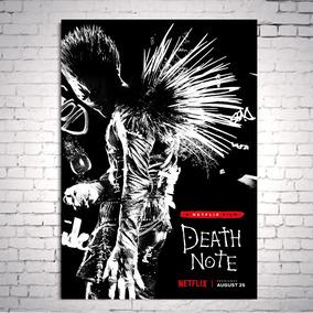 Poster Cartaz Death Note Caderno Da Morte Netflix A3