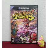 Caja Y Manual De Super Mario Strikers Gamecube (sin Disco)