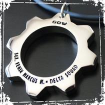 Gears Of War Cog Tags Marcus Fenix Bold Edition Metalicas