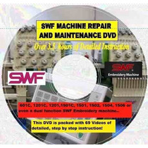 Manual Swf Reparacion Bordadoras