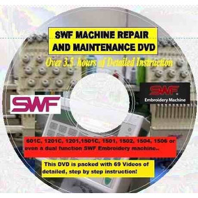 Manual Swf Reparacion Bordadoras