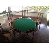 Mesa De Juego Antigua (años