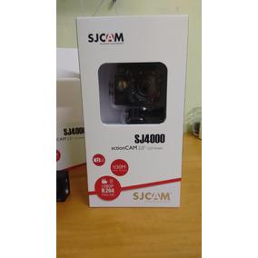 Sjcam Sj4000 Original +entrada P2 + Microfone Para Capacete