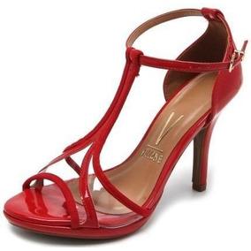 ddc6ce479 Sandalia Salto Fino 8 Cm Vizzano - Sapatos no Mercado Livre Brasil
