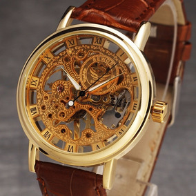 Reloj Sewor Skeleton Super Precio Mecanico Elegante Enviogra