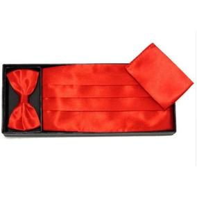 Humita+ Faja+pañuelo, Rojo, Para Ternos Y Trajes.