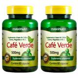 Café Verde - 60 Cápsulas (2 Unidades) - Maxinutri