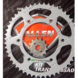Kit Relação Transmissão Tração Allen Honda Crf 230 Moto