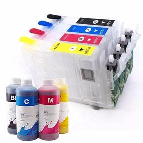 Cartucho Recarregável Xp214 Xp211 Xp401 Xp411 Wf2532 + Tinta
