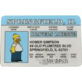 Licencia De Homero Simpson. Los Simpson. Envío Gratis.