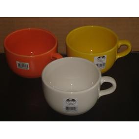 Tazon Bombe Ceramica Ancers X 1 Solo Naranja